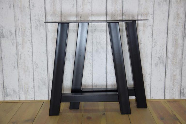 Tafelpoot staal A vorm